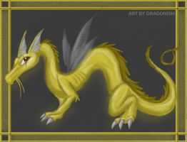 Chinese Serpant by dragonish
