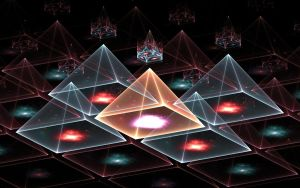 fractal pyramid 1 by fengda2870