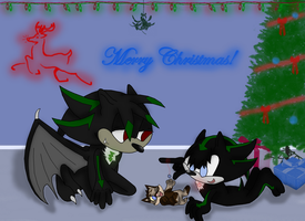 Secret Santa for ChibiChibiWoofWoof 8D by Xbox-DS-Gameboy