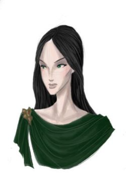 The Lady in the Green by whimsicalcow