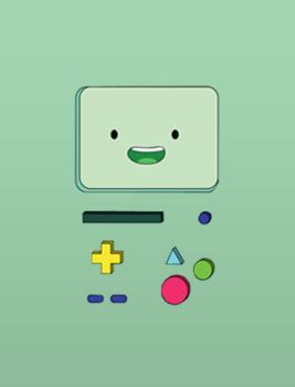 BMO IPhone Wallpaper 3. :3 by FlorchuuGomezBieber