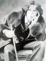 Picture of Oscar Wilde by Tearendora