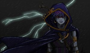 The Storm Calls for Your Death by canius