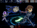 Mass Effect Adventure! by Gryphon-Shifter