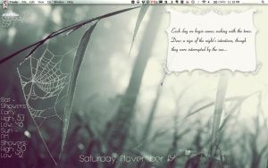 Mid November desktop by hopefulpoet