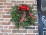 Christmas Wreath 2013 close-up by BelladonnaBlood33
