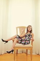 Large Chair by RebekaPhotography