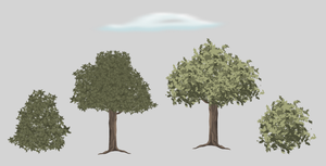 [Tutorial] : Bushes,Trees and Clouds by 1Darkfalcon
