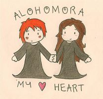 Alohamora my Heart by GoldenPhoenix75
