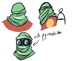 Pyro Hat Idea by Py-Bun