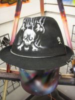 Heavy Metal Fedora by theSmartestArtist