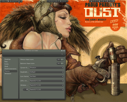 Paolo-Ringi-Malys-custom Gnome shell 3.4 theme by cbowman57