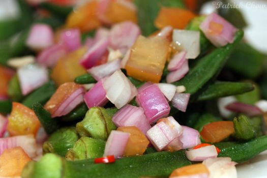 Okra Salad by patchow