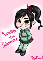 Vanellope by DenDenMichiMushi