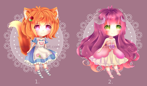 Kemonomimi Adoptables-Auction (Closed) by Minrii