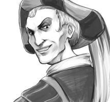 Frollo sketch. by Mortica