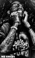 Wiz khalifa Black by th3xPiw0r