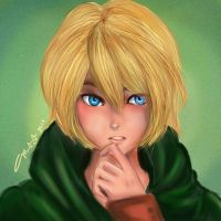 Armin Arlert Thinks. by marikit