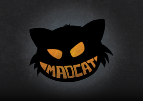 Mad Cat Logo by NeoniceNL
