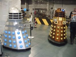 Expo 2010 - Daleks by AngelBless