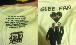 Glee Fan Top by Iglee