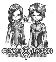 Code Lyoko Evolution: William and Yumi by FireLordWael