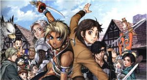 Suikoden 3 -  Lake Castle Peps by brightryuichi