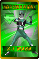 X-1 Mask by rangeranime