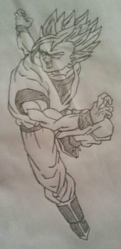 Adult Gohan SS2  by Gogeta126