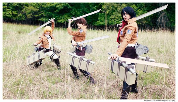 Attack on Titan: Save Our City by cafe-lalonde