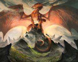 The Great Dragon by AlectorFencer