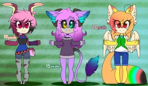 1# Adoptables by Gaby-Kagamine-cat