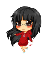 Commission Denote Chibi by koffeelam
