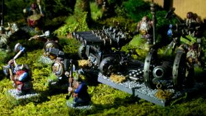 Dwarf army by Teuril