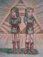 TP Link and OOT Link by fairy-princesssstar
