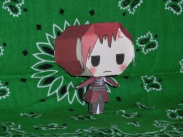 Gaara Papercraft by HaoLRed
