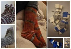 Sock production 2013 by Ompabop