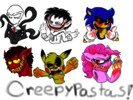 Creepypasta (Stream Doodles) by InvdrScar