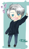 Chibi Viktor by Ivani-art