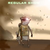 Regular Show Modern Warfare 2 by mattbyles
