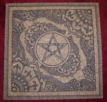 Office Board with Pentacle by parizadhe