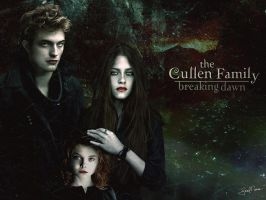 The Cullens Breaking Dawn by AngelBreadLover