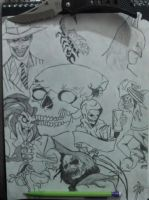 Random Drawings by jokercrazy