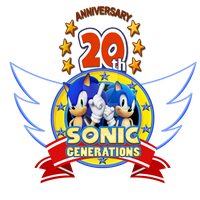 Sonic's 20th Anniversary Logo3 by Pisces19