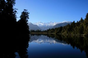 Lake Matheson by Enigma784