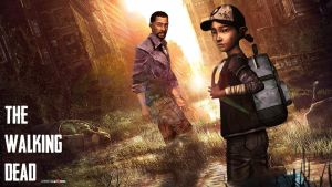 The Walking Dead And the Last of Us wallpaper by XHaloMMDArtX