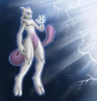 Mewtwo by AnaduKune