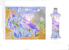 art water waterfall by mattac26