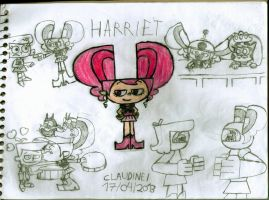 Clang Invasion - Harriet Suffington the IV Esquire by claudinei230