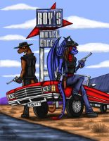 Road outlaws by Ravenfire5